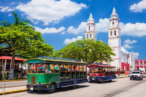 Fototapeta Campeche, Mexico