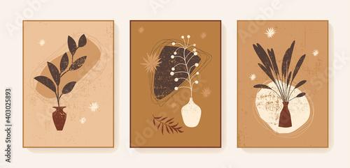 Photo Boho triptych wall decor prints