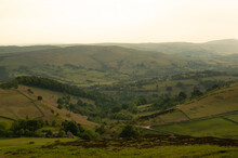 Hathersage Booths At Sunset
