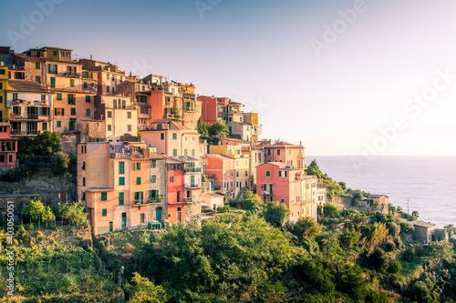 Fotomural Village of Corniglia in Cinque Terre