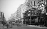 Fototapeta Londyn - old street in the city