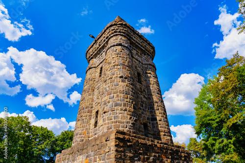 Fotografering Bismarck Tower in the Hardt Park in Wuppertal, Germany