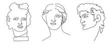 David, Venus De Milo, Apollo