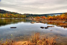 Bridge Over The Potomac River Near Harpers Ferry West Virginia