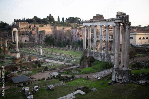 Fototapeta roman forum city