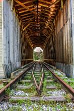 Covered Railroad Bridge, Vermont