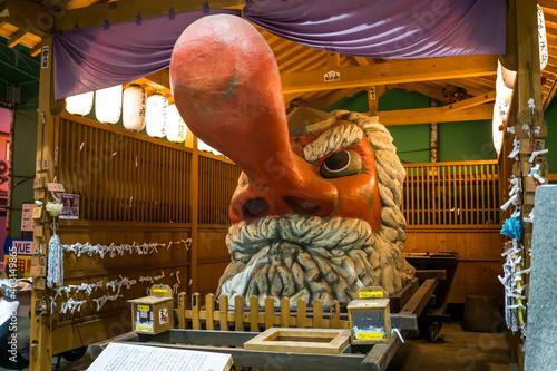 Tela 大分県別府市にある巨大な天狗