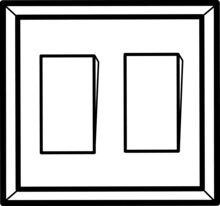 Illustration Of Light Switch Button