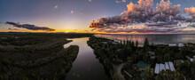 Byron Bay Sunset Wetlands