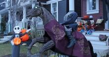 Headless Horseman And Skeletons Playing Banjos