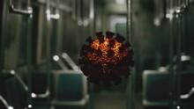 Coronavirus Covid-19 Epidemic In Subway Car