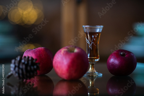 Fototapeta still life with sherry