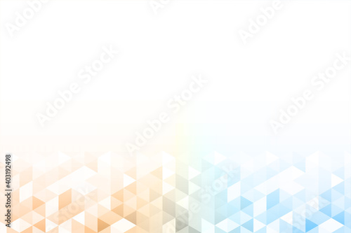 Fototapeta Abstract_colorful_background_with_gradient_triangles_gradation obraz