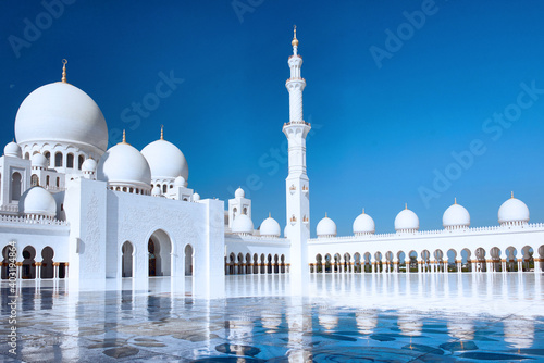 Canvas Grande mosquée Cheikh Zayed.Abou Dabi, Émirats arabes unis