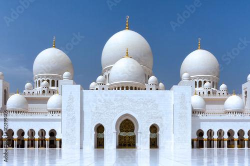 Billede på lærred Grande mosquée Cheikh Zayed.Abou Dabi, Émirats arabes unis