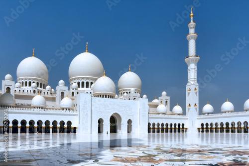 Foto Grande mosquée Cheikh Zayed.Abou Dabi, Émirats arabes unis