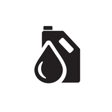 Engine Oil Icon Symbol Sign Vector