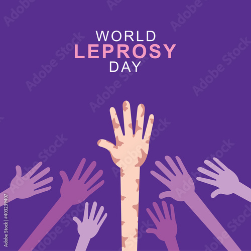 Obraz na plátně World Leprosy Day