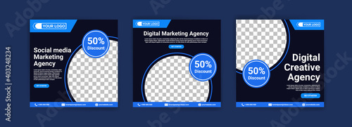 Cuadros en Lienzo Social media marketing agency