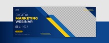 Webinar Facebook Cover Banner Template Social Media Post