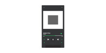 Mock Up Of Music Player Vector Illustration