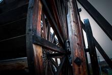 Wooden Water Wheel