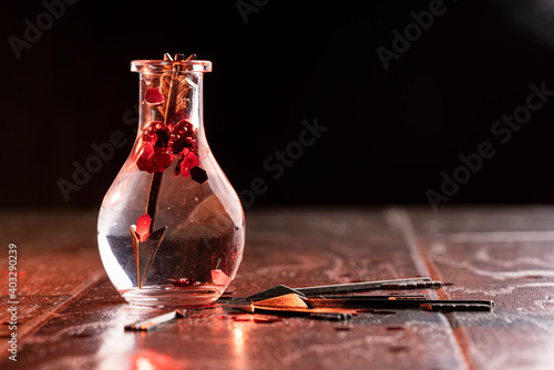 Canvastavla Valentine potion