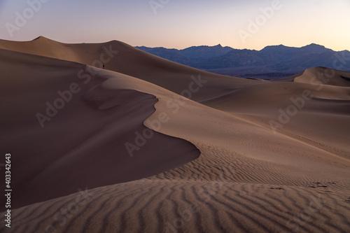 desert sand dunes Fotobehang