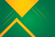Green Yellow Combination Abstract Background Hd Vector Wallpaper With Triangles