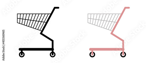 Fotomural ショッピングカート