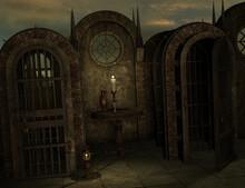 3d Render Of A Fantasy Background
