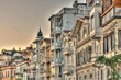 Arnavutkoy district of Istanbul, HDR Image