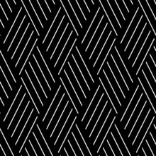 Seamless Pattern With Oblique White Segments