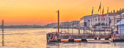 Fotografie, Obraz Istanbul skyline, HDR Image