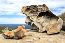 The Remarkable Rocks, A Natural Rock Formation, In The Flinders Chase National Park On Kangaroo Island, South Australia, Australia.