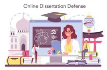 Orientalist Online Service Or Platform. Middle Eastern, African