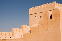Walls, Battlements And Loopholes Of The Omani Fort