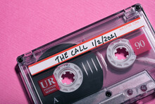 Cassette Tape With Recording Of Political Call