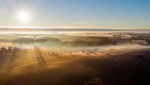 Foggy Morning In Denmark