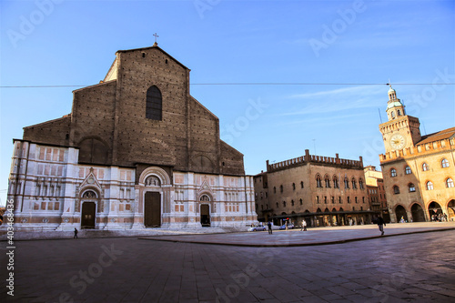 Fototapety, obrazy: Basilica di San Petronio a Bologna