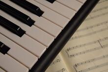 Electric Piano, Keyboard Piano, Pianino Klawisze Instrumentu I Nuty