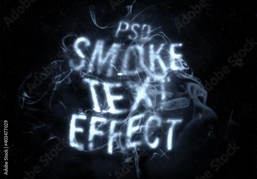 Obraz Smoking Text Effect - fototapety do salonu