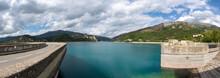 Lac De Castillon Alpes De Haute Provence France