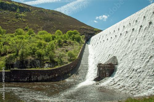 Elan valley and the Rhayader Dams