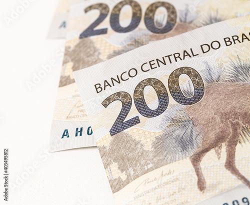 Fototapeta Real, Reais, Dinheiro, Brasil