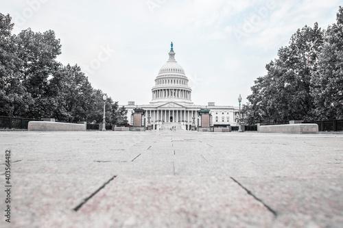 Obraz United States Capitol Building east facade - Washington DC Unite - fototapety do salonu