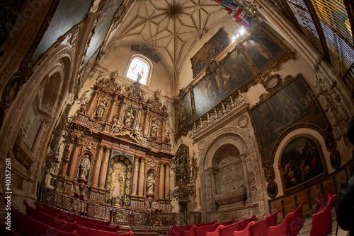 Cuadros en Lienzo Seville, Andalusia, Spain, Euripe, Side chapel of the Virgen de la Antigua in th