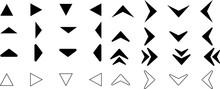 シンプルな矢印デザインセット1