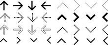 シンプルな矢印デザインセット3