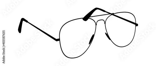Fotografie, Obraz Glasses silhouettes